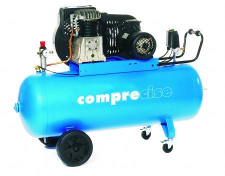 P100/400/3 PROFI kompresor s olejovou naplňou pomalobežný