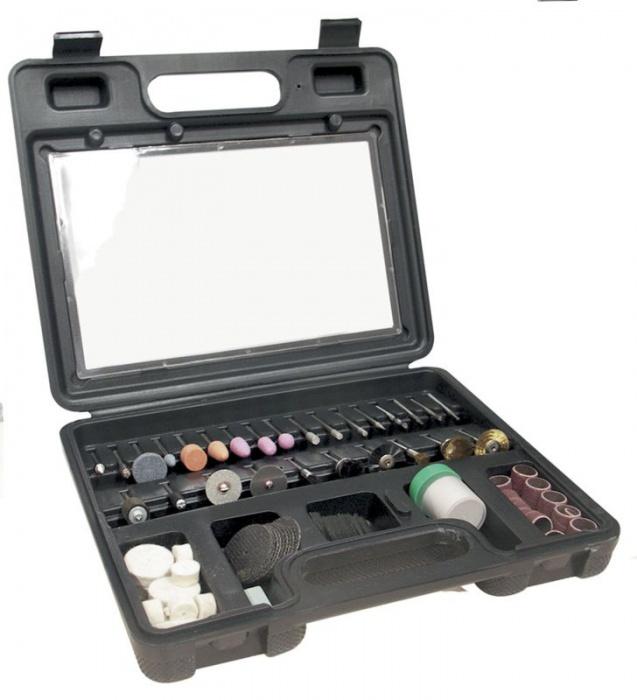 CTA1007  príslušenstvo pre priamu brúsku (100ks v kufríku)
