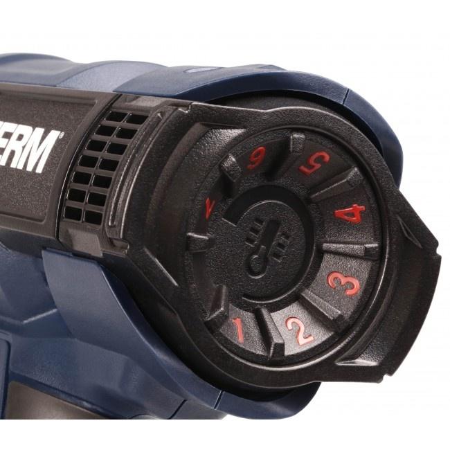 HAM1017P  Teplovzdušná pištoľ 2000W