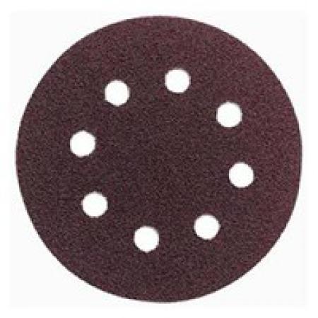 brúsny papier na suchý zips pr. 180 mm, zr.80
