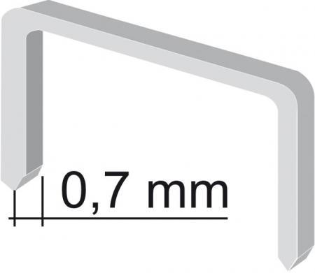 spony 12mm/0,7mm, 1000ks