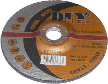 Brúsny kotúč 125x6,0x22,2mm (sada 5 ks)  oceľ