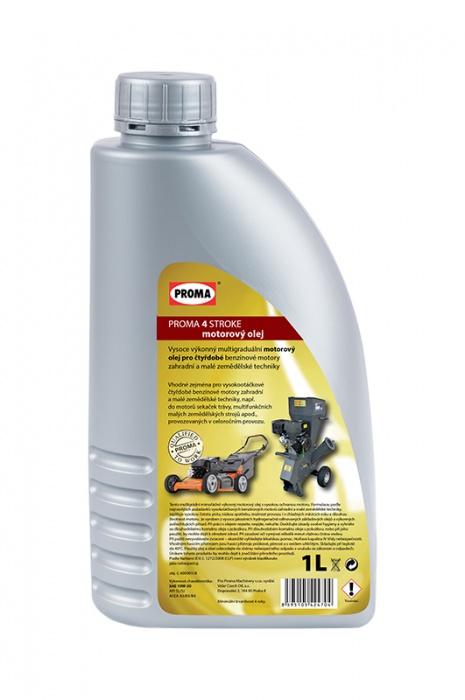 olej PROMA   4-STROKE - motorový 1l   pre 4-taktné benzínové motory