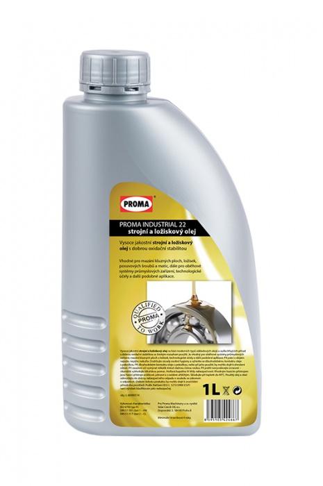 olej PROMA INDUSTRIAL 22 - strojný a ložiskový 1L