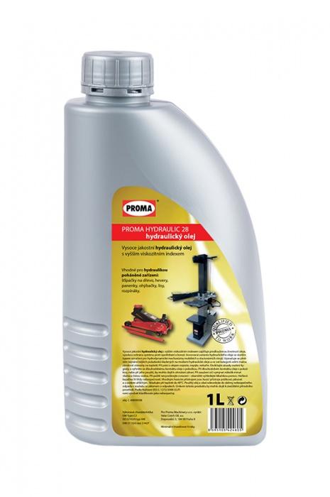 olej PROMA HYDRAULIC 28 - hydraulický  1L