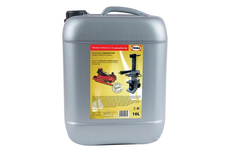 olej PROMA HYDRAULIC 28 - hydraulický  10L