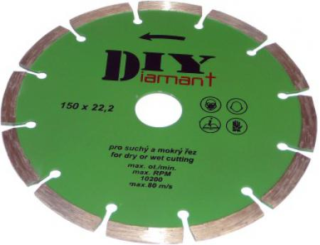 DIYS 115 diamantový kotúč segmentový DIY