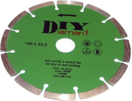 DIYS 230 diamantový kotúč segmentový DIY