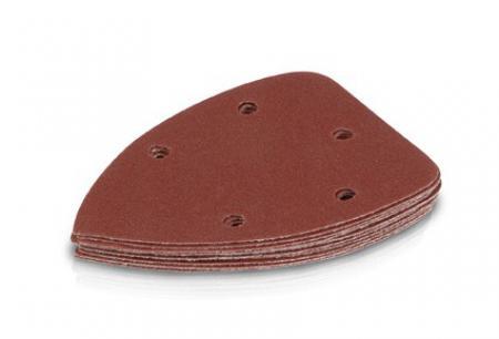 brúsny papier 138x138x90-suchý zips s odsávanímpre FDS-220K 100zr.