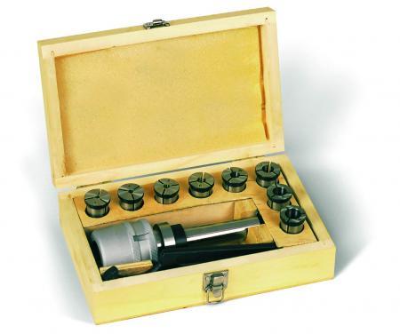 kleštinový upínač Mk3 a sada kleštin 4 - 16 mm