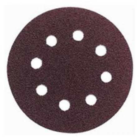 brúsny disk pr.125mm  zr.80 pre FROS-480  suchý zips s otvormi