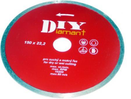 DIY 125 diamantový kotúč celoobvodový DIY