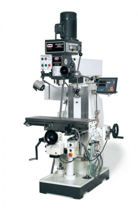 FHV-50PD/2   Univerzálna frézka  s digitálnym odmeriavaním