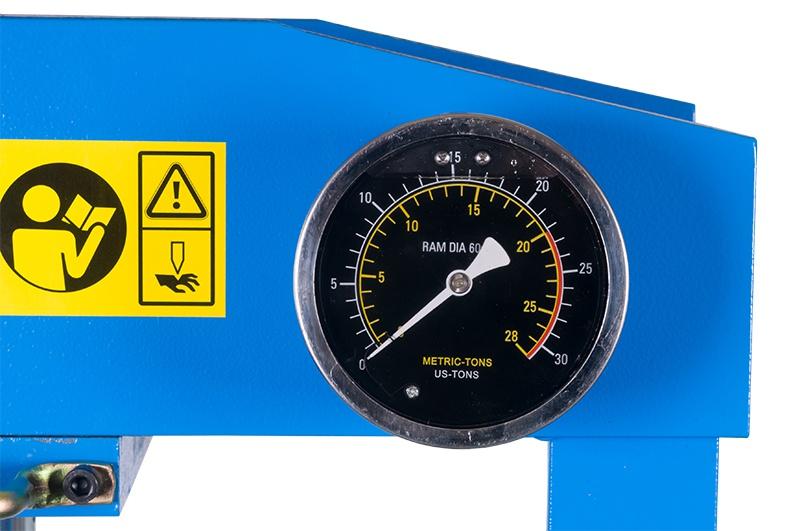 HLR-20U/2  hydraulický lis