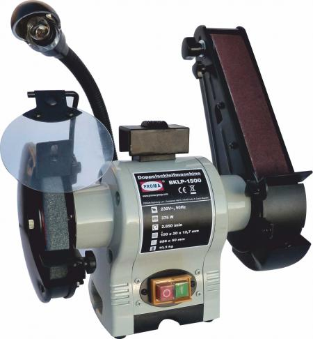 BKLP-1500  Dvojkotúčová brúska kombinovaná