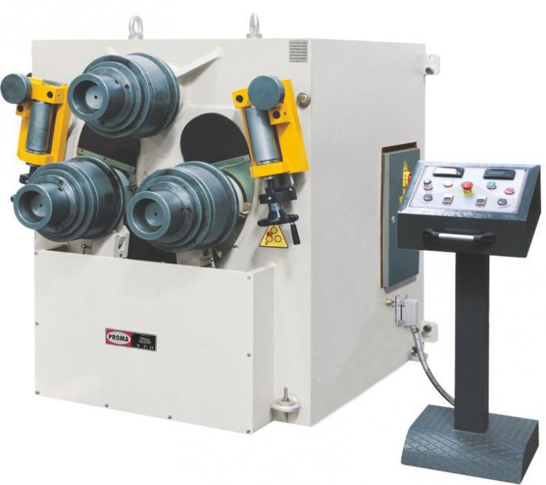 PMB-245H  Zakružovačka profilov hydraulická