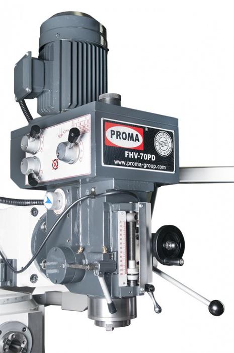 FHV-70PD Univerzálna frézka  s digitálnym odmeriavaním