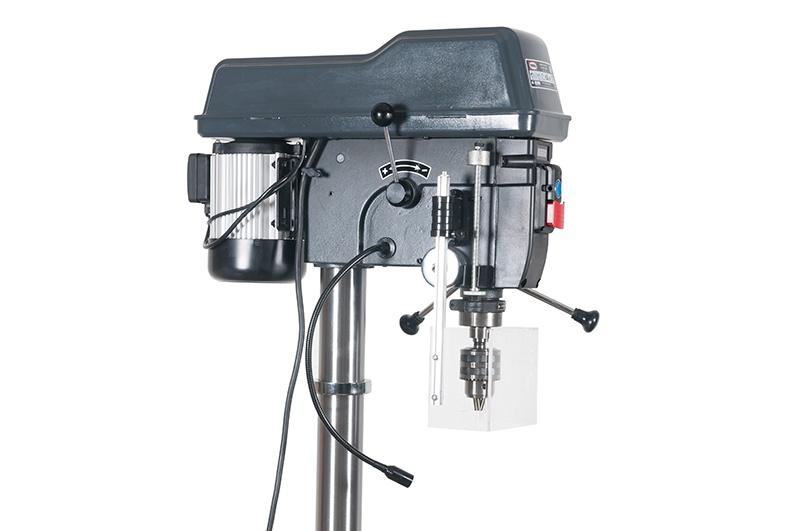 E-1720FVL/400  stĺpová vŕtačka s variátorom