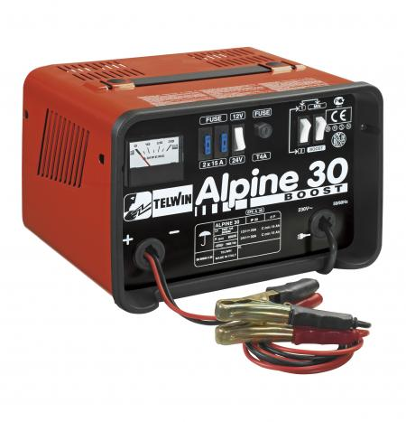 ALPINE 30 BOOST nabíjací zdroj 12/24V max.400 Ah