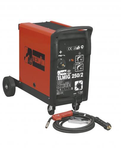 TELMIG-250/2 TURBO zvárací transformátor v ochr. atmosfére
