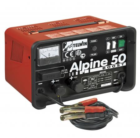 ALPINE 50 BOOST nabíjací zdroj 12/24V max.500 Ah
