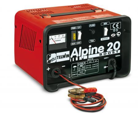 ALPINE 20 BOOST nabíjací zdroj 12/24V max.225 Ah