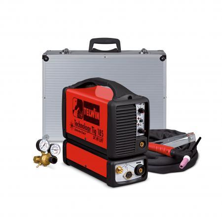 TECHNOLOGY TIG 185 DC HF/LIFT+TG  Zvárací invertor v kufríku s prí
