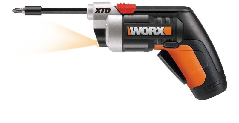 WX252  Aku skrutkovač  4V 1,5 Ah Li-Ion