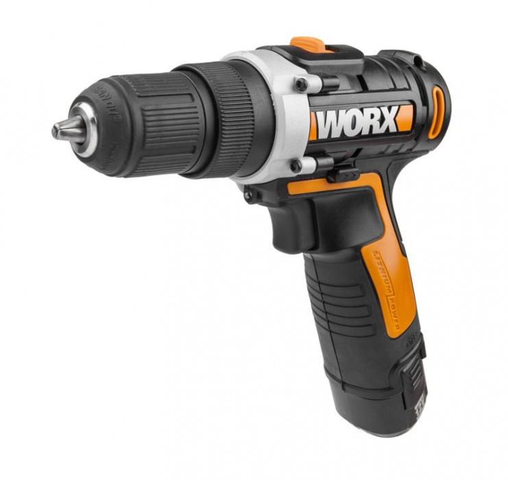 WX128  Aku skrutkovač  12V  2Ah Li-Ion