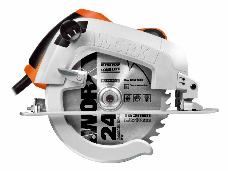 WX445  ručná okružná píla  1600W  190 mm