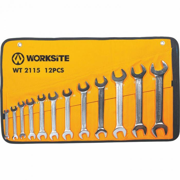 WT2115   kľúče ploché 12 ks (6-32mm)
