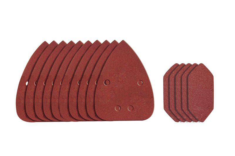 WA2069  brúsny papier na suchý zips pre WX648  zr.80 , 120 , 240  sada 18ks
