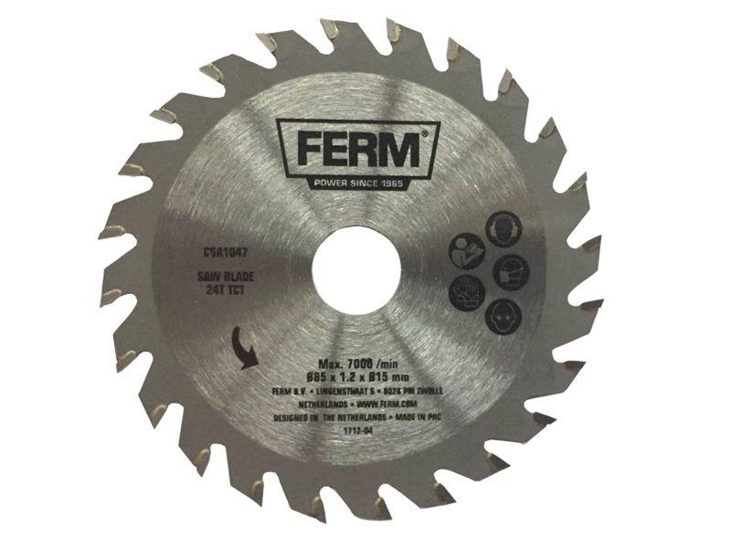 CSA1047 pílový kotúč na drevo pr. 85 mm 24 zub  TCT