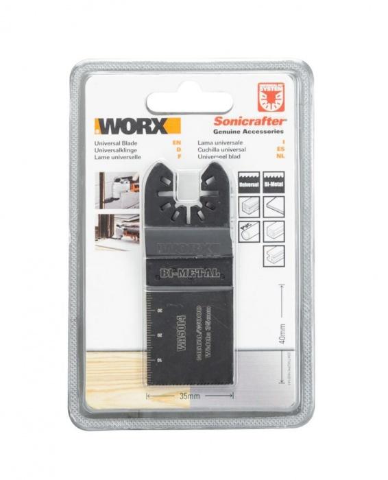 WA5014.3  Pílový list ( kov / drevo ), 35 mm, sada 3ks