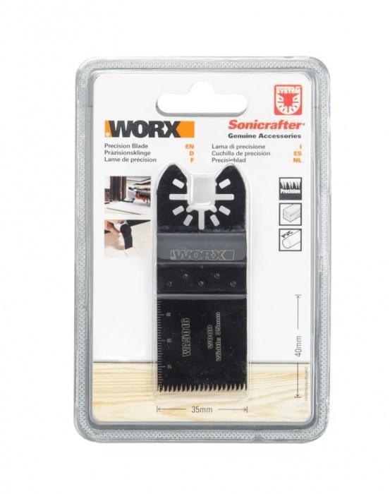 WA5016  Pílový list ( drevo - precízny rez ), 35 mm, 1ks