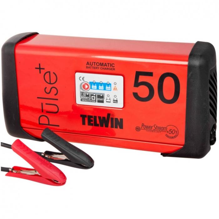 PULSE+ 50 Automatická nabíjačka  6/12/24V  max.600 Ah