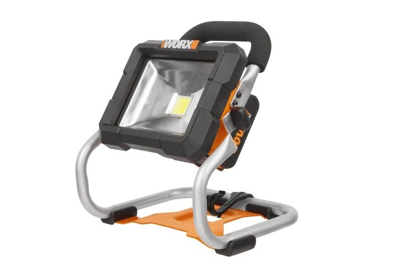 WX026.9 - Aku pracovné LED svetlo Li-Ion 20V, 1500L - bez akumulátora - PowerShare