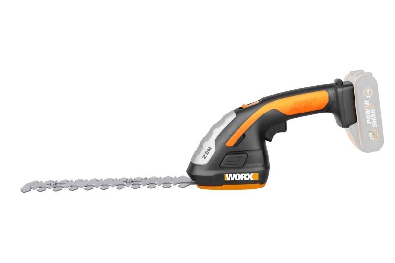 WG801E.9 - Aku zastrihávač trávy / plota - bez akumulátora - PowerShare