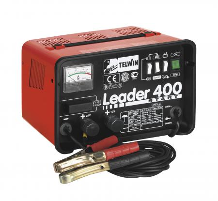 LEADER 400 START nabíjací zdroj so štart. zariadením  12 - 24V