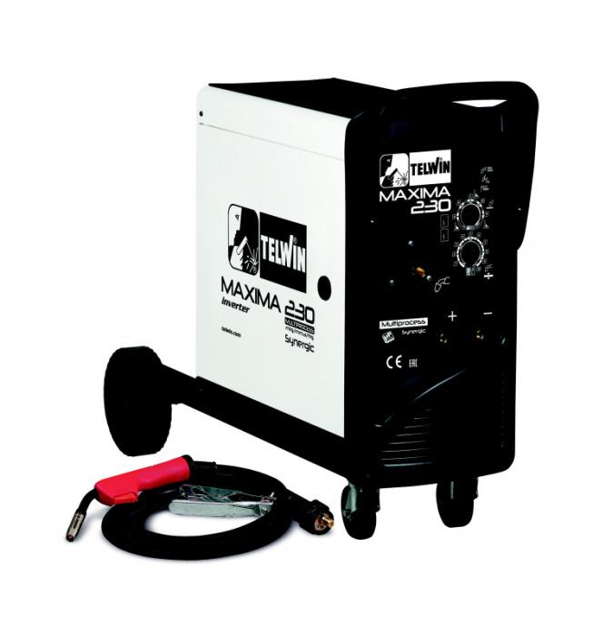 MAXIMA 230 SYNERGIC -  zvárací invertor CO2 (MIG-MAG)/MMA/TIG DC-LIFT