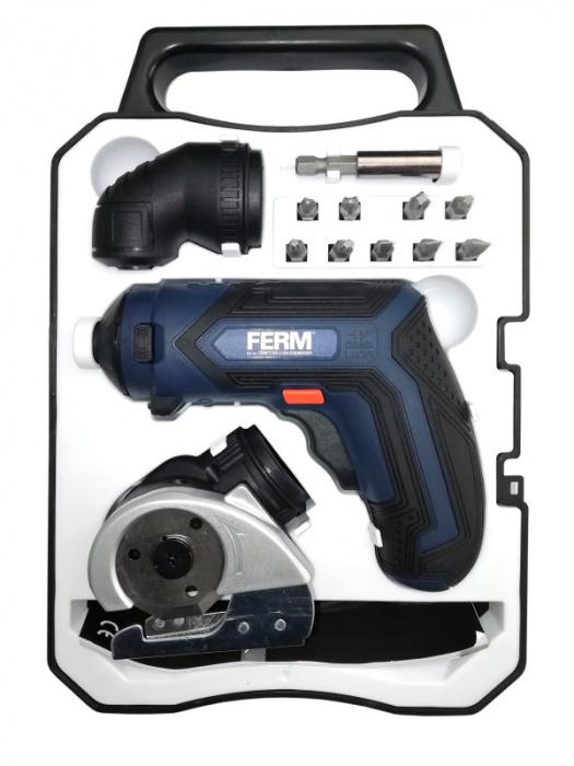 CDM1150 - Aku multifunkčný skrutkovač  4,0V, 1,5Ah (s kufrom a príslušenstvom)