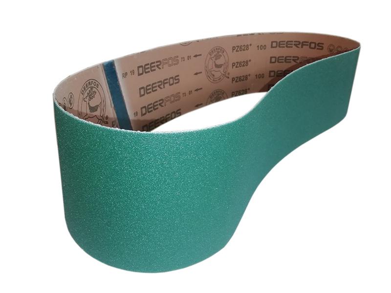 brusný pás zirkon 100x1220 mm/  zr.80 pre BPK-2100/230 a BPK-2100-2/400 na kov