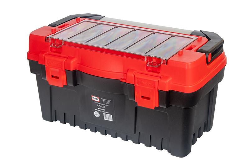 KP-12E Plastový box s hliníkovým držadlom