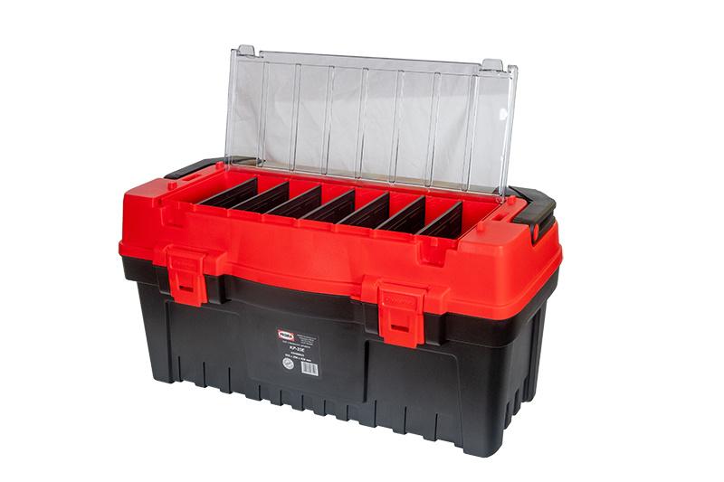 KP-25E Plastový box s hliníkovým držadlom