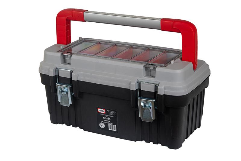 KP-13O Plastový box s hliníkovým držadlom a zámkami