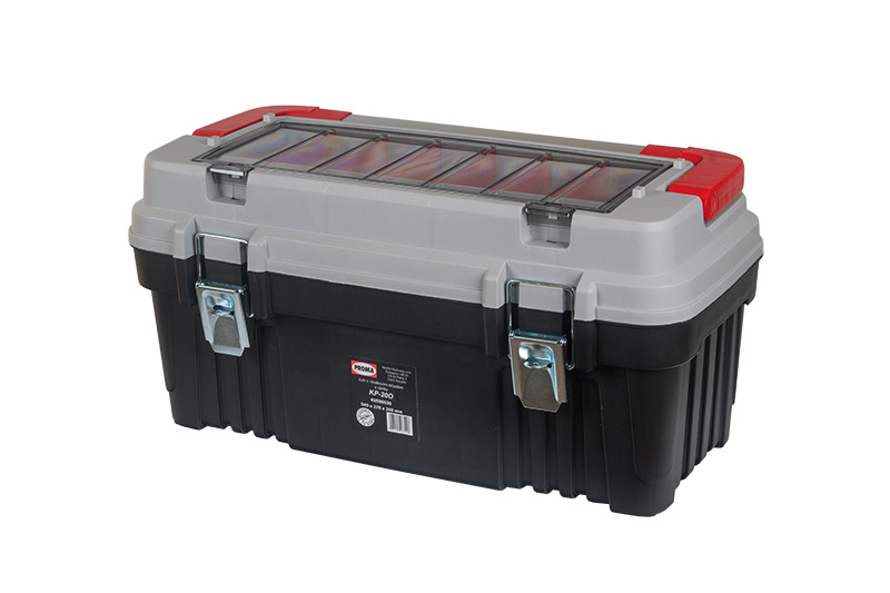KP-20O Plastový box s hliníkovým držadlom a zámkami