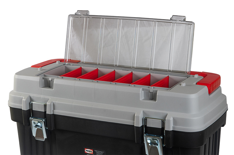 KP-25O Plastový box s hliníkovým držadlom a zámkami