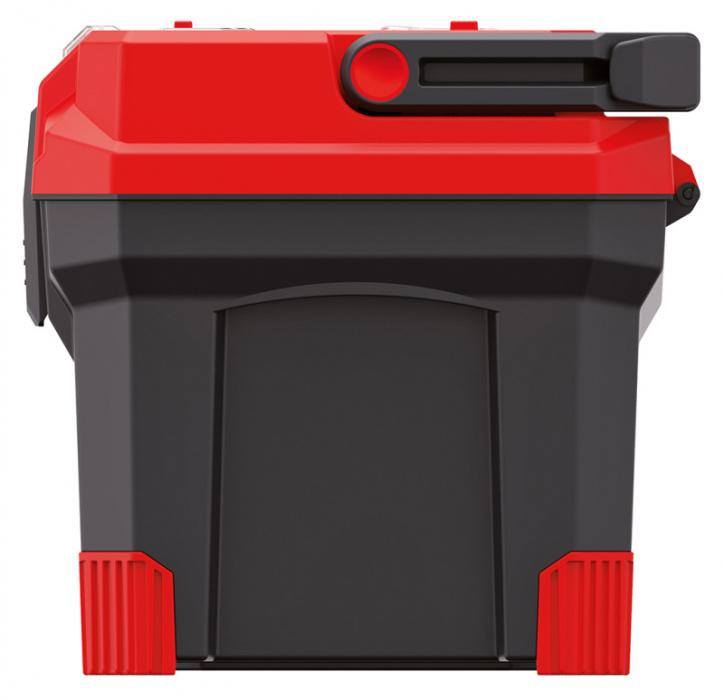 KP-20T Plastový box s hliníkovým držadlom a gumenými rohmi