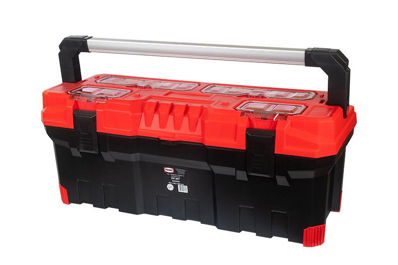 KP-30T Plastový box s hliníkovým držadlom a gumenými rohmi