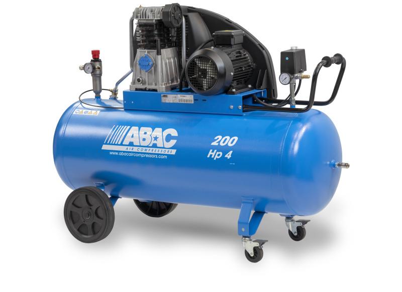 P200/400/4N  PROFI kompresor s olejovou naplňou pomalobežný